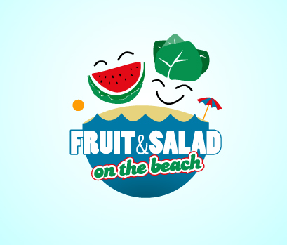 Fruit & Salad on the Beach